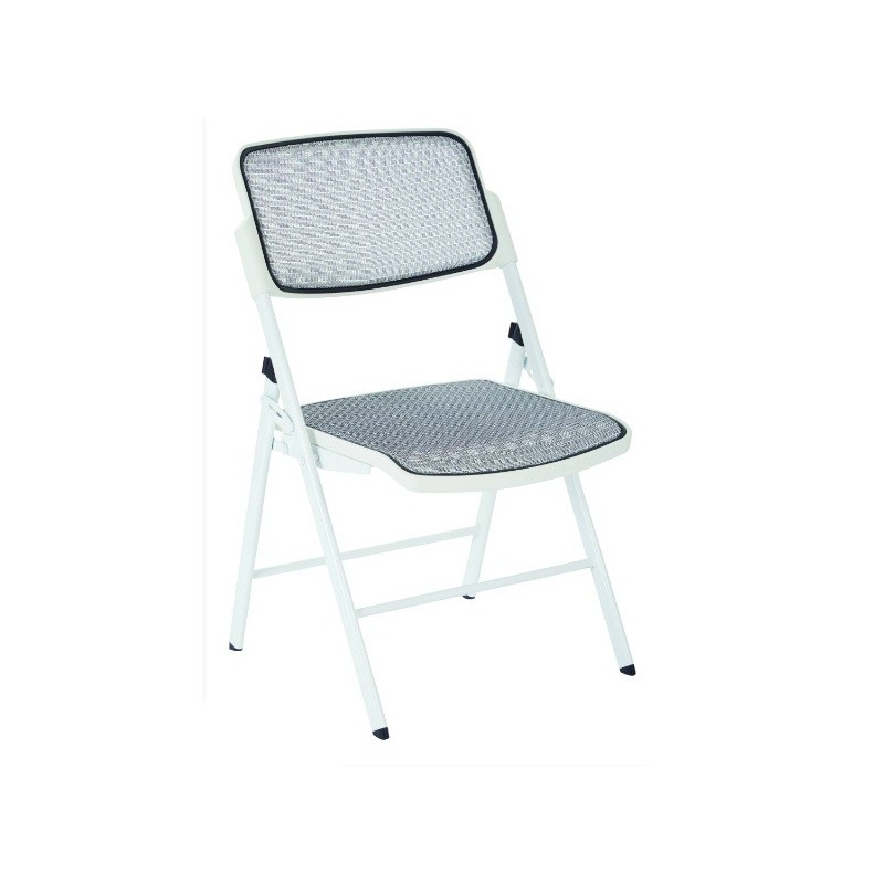 Pro Line II ProGrid Mesh Seat and Back Folding Chair (81101)
