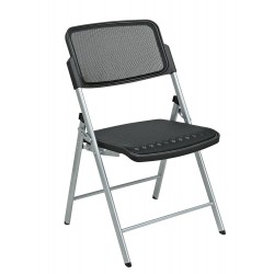 Pro Line II Deluxe Folding Chair With Black ProGrid Seat and Back (81608)