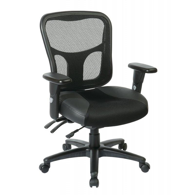 Pro Line II ProGrid High Back Managers Chair- Coal (98346)