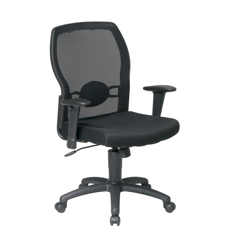 Work Smart Woven Mesh Back Chair (599302)
