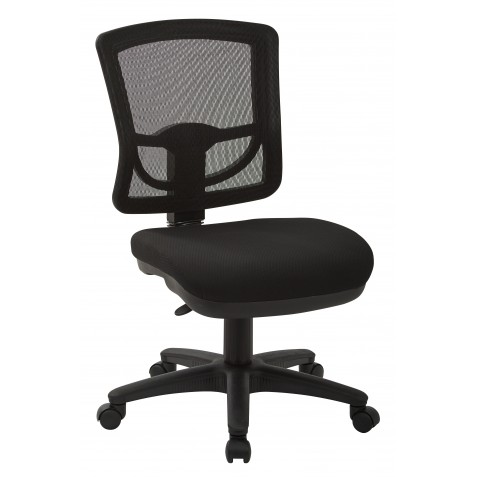 Pro-Line II ProGrid Mesh Back Armless Task Chair (2817-30)