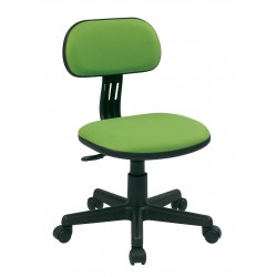 OSP Designs Student Task Chair in Green Fabric (499-6)