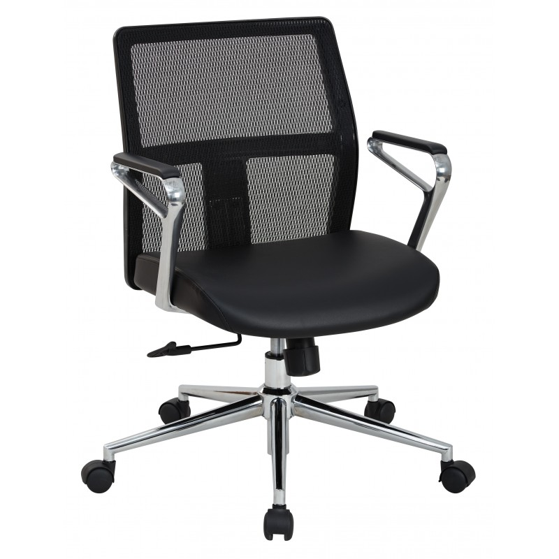 OSP Furnitures Mid Back Manager\'s Chair (519117MC-EC3)