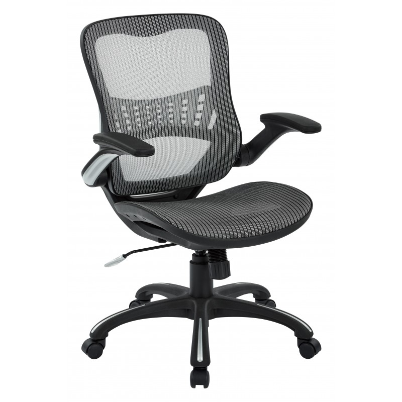 Work Smart Mesh Seat and Back Manager's Chair (69906-2)