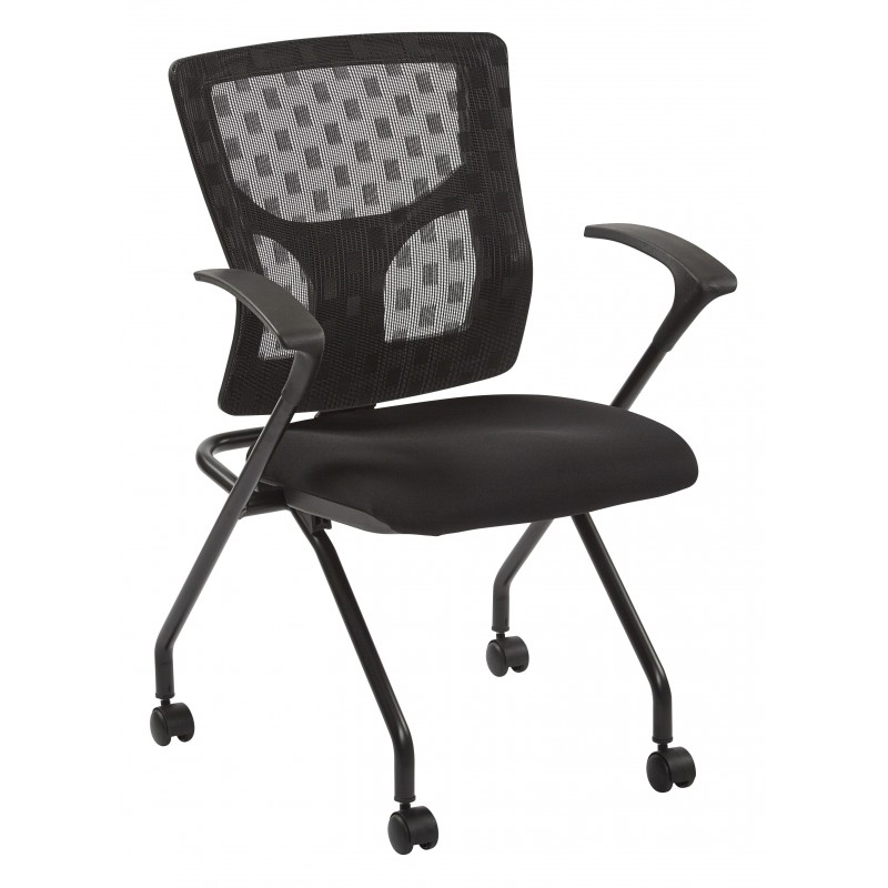 Pro-Line II ProGrid Checkered Mesh Back Folding Chair (84230-30)