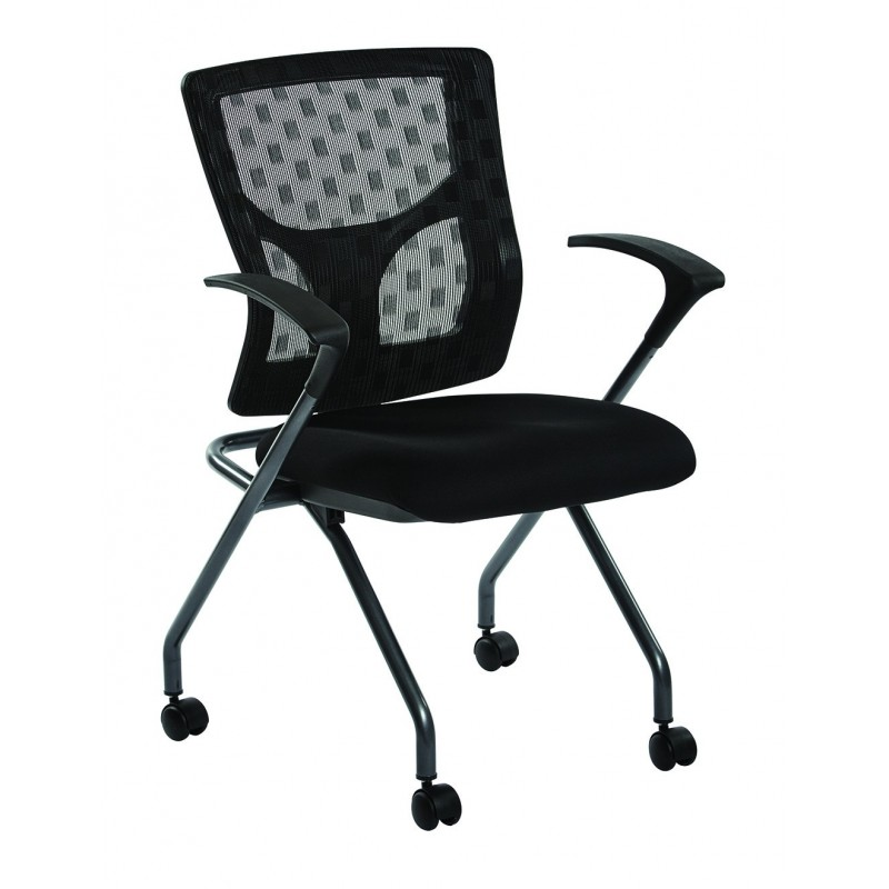 Pro-Line II ProGrid Checkered Mesh Back Folding Chair (84270-30)