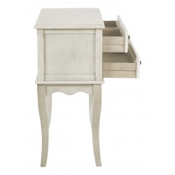 INSPIRED By Bassett Alisa Storage Console - White (BP-ALICSL-YCM2)