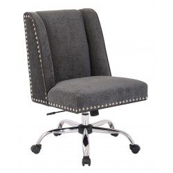 INSPIRED By Bassett Alyson Managers Chair - Grey (BP-ALYMC-SK788)