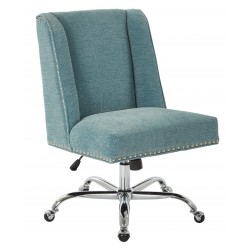 INSPIRED By Bassett Alyson Managers Chair - Blue (BP-ALYMC-SK789)