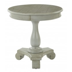 INSPIRED By Bassett Avalon Round Accent Table - Grey (BP-AVLAT-YM19)