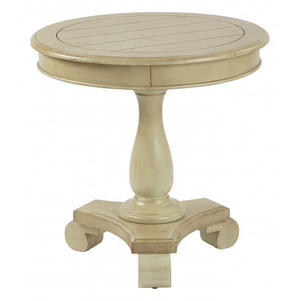 inspired by bassett avalon round accent table white bp avlat ym20. Black Bedroom Furniture Sets. Home Design Ideas