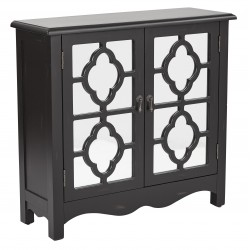 INSPIRED By Bassett Bayview Storage Console- Black (BP-BAY17-FR3)