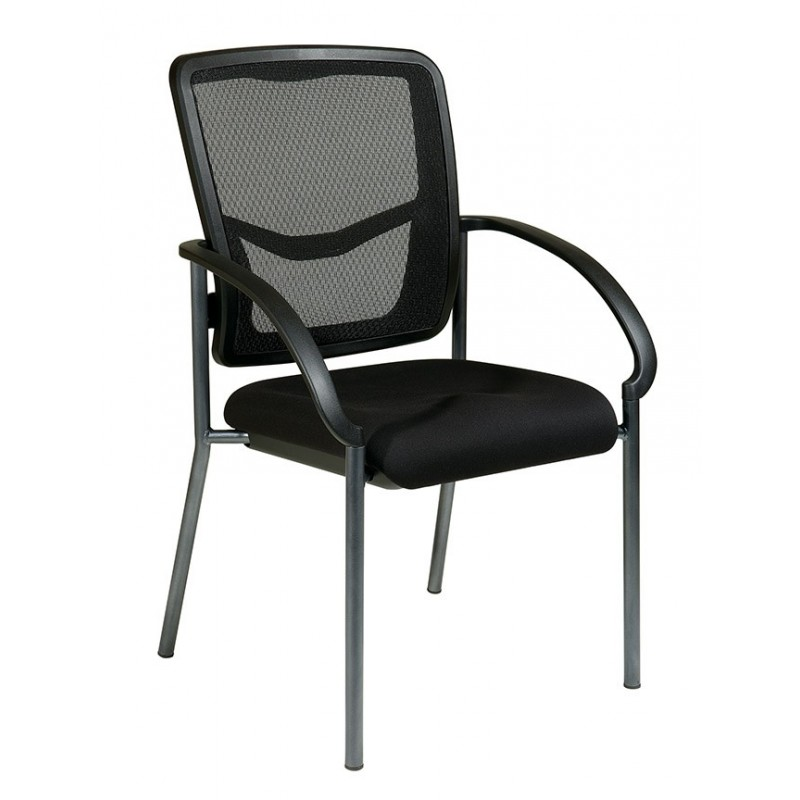 Pro-Line ProGrid Back Visitors Chair with Arms (85670-30)
