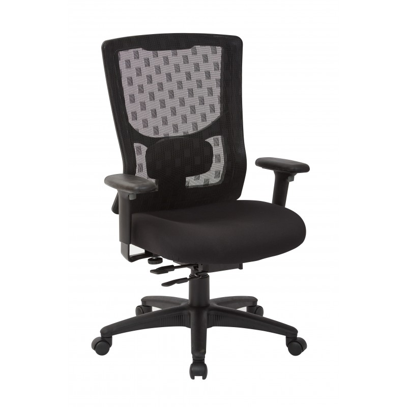 Pro-Line II ProGrid Checkered Mesh Back Chair (95512-30)