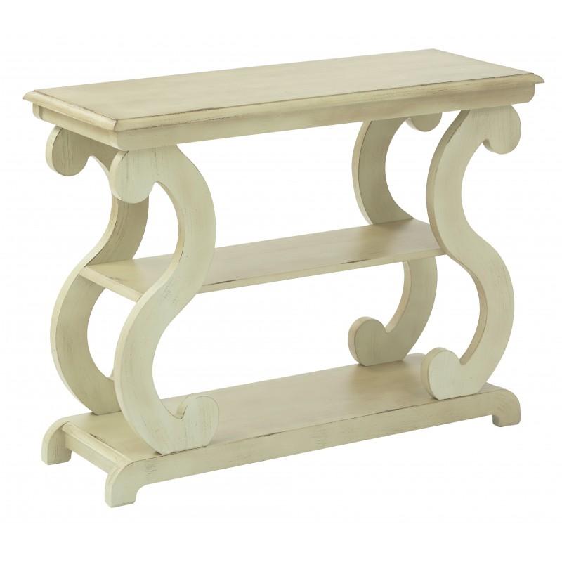 OSP Designs Ashland Console Table in Antique Celedon Finish (ASHCSL-YM20)