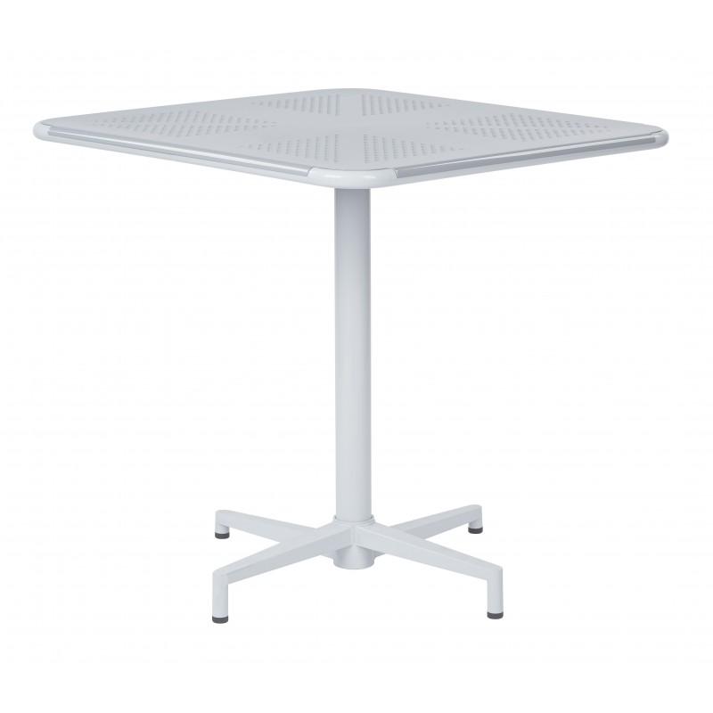 "OSP Designs Albany 30"" Square Folding Table - Pastel Quarry Finish (ALB43211-P704)"