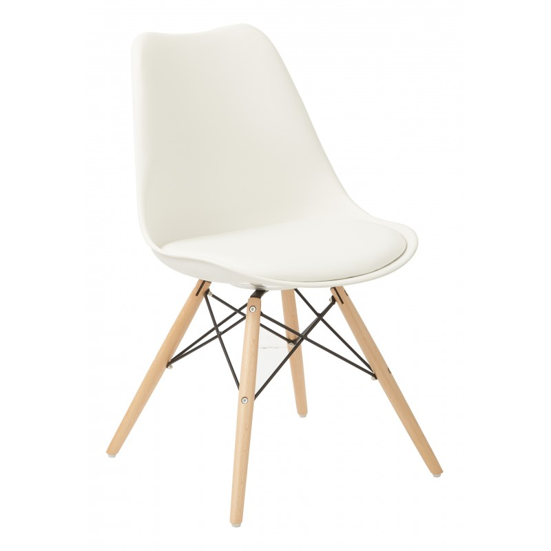 Ave Six Allen Guest Chair - White (ALNWG-11)