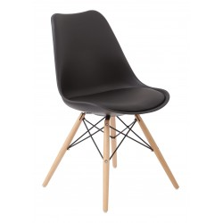 Ave Six Allen Guest Chair - Black (ALNWG-3)