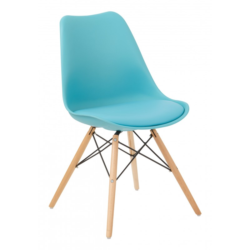 Ave Six Allen Guest Chair - Blue (ALNWG-7)