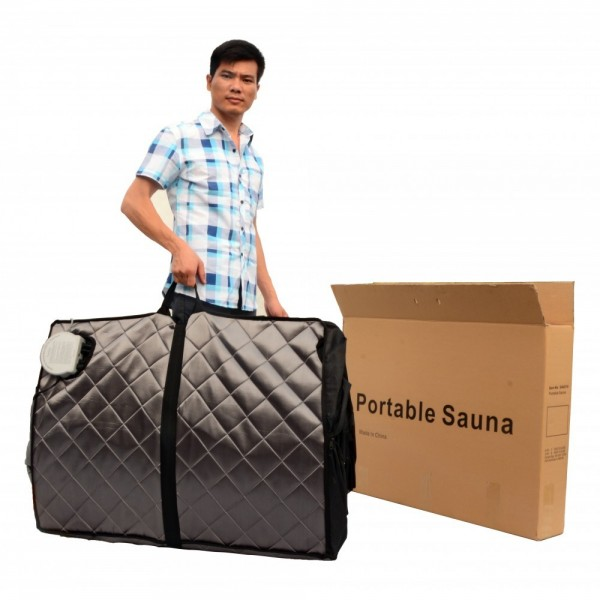 heat wave rejuvenator portable sauna sa6310. Black Bedroom Furniture Sets. Home Design Ideas