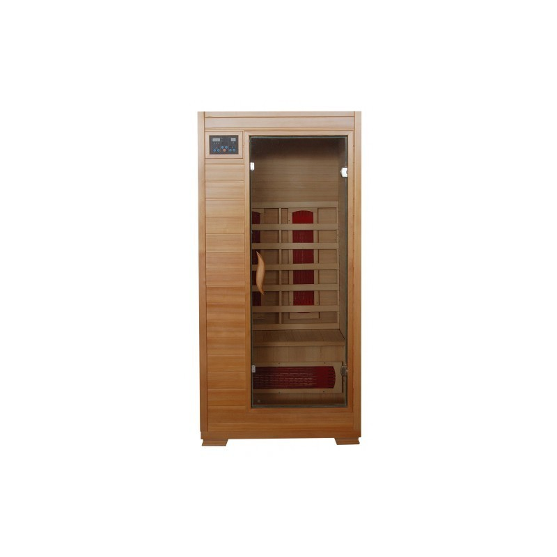 Buena Vista - Hemlock 1 Person FAR Infrared Sauna With Ceramic Heaters