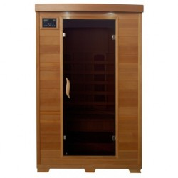 Coronado - Hemlock 2 Person FAR Infrared Sauna With Ceramic Heaters