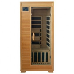 Buena Vista - Hemlock 1 Person FAR Infrared Sauna With Carbon Heaters