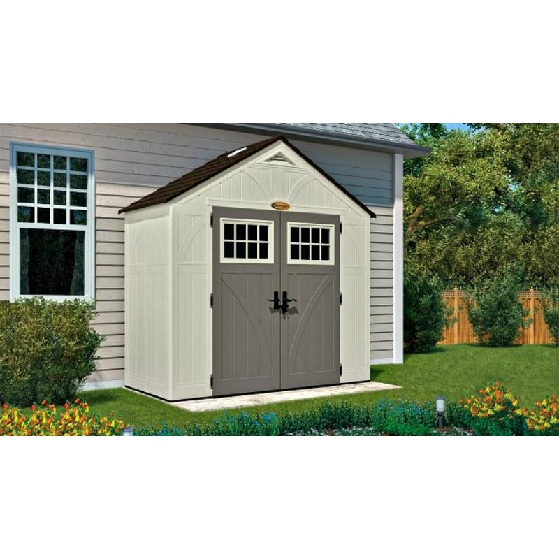 Suncast 8x4 Tremont Storage Shed W Floor Bms8400d