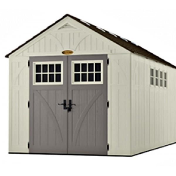 Suncast 8x16 Tremont Storage Shed W Floor Bms8165