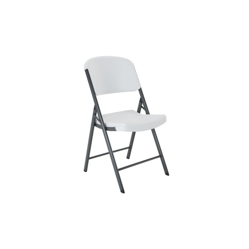 Lifetime Commercial Contoured Folding Chair 32 Pack (White)