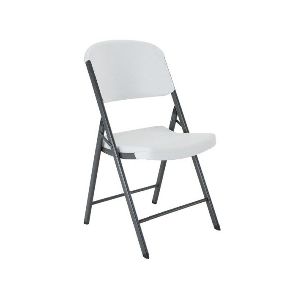 Lifetime 32 Pack mercial Contoured Folding Chairs White 2802