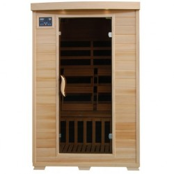 Coronado - Hemlock 2 Person FAR Infrared Sauna With Carbon Heaters
