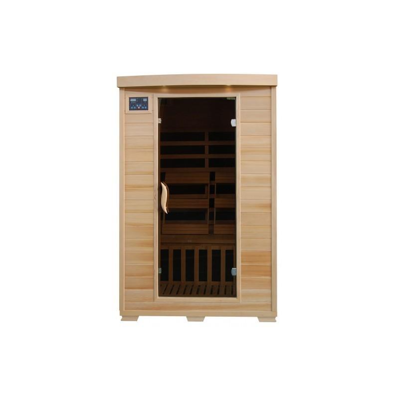 Coronado - Hemlock 2 Person FAR Infrared Sauna With Carbon Heaters
