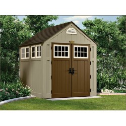 Suncast 2-Pack Alpine Storage Shed w/ Floor (BMS7775)