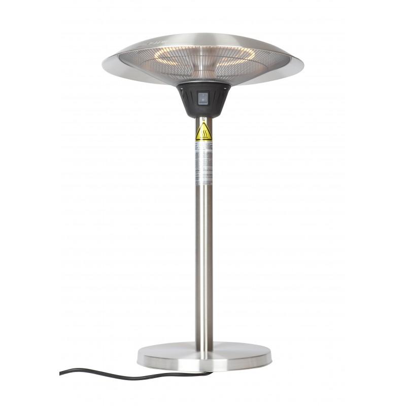 Fire Sense Cimarron Stainless Steel Table Top Halogen Patio Heater (62216)