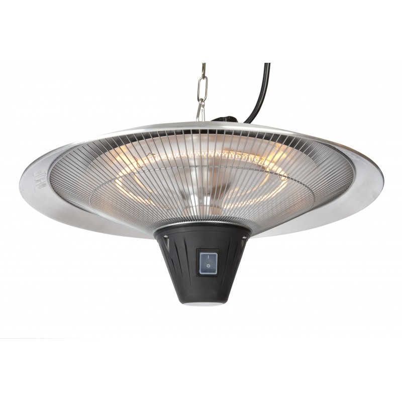Fire Sense Gunnison Aluminum Hanging Halogen Patio Heater (62221)