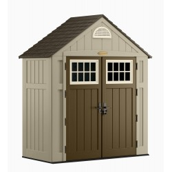 Suncast 2-Pack 7x3 Alpine Shed - Taupe (BMS7300)
