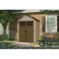 Suncast 2-Pack 6x3 Everett Storage Shed Kit w/ Floor (BMS6310)