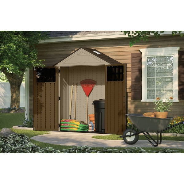 Step Inside This Personality Packed Home In Hampshire: Suncast 2-Pack 6x3 Everett Storage Shed Kit W/ Floor (BMS6310