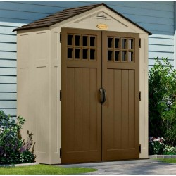 Suncast 2-Pack 7x3 Sierra Resin Storage Shed Kit w/ Floor (BMS6300)