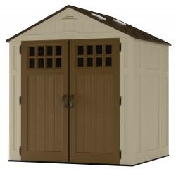 Suncast 2-Pack 6x5 Everett Storage Shed Kit w/ Floor (BMS6510)