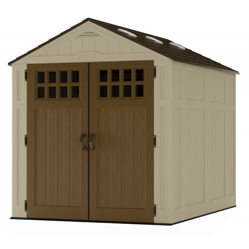 Suncast 6x8 Sierra Storage Shed Kit w/ Floor (BMS6800D)