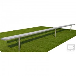 Gared 27' Spectator Bench, Inground (BE27IG)