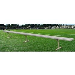 Gared 21' Spectator Bench without Back, Portable (BE21PT)
