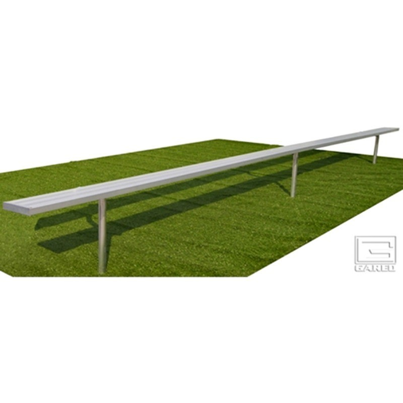 Gared 21' Spectator Bench without Back, Inground (BE21IG)