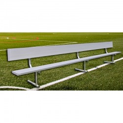 Gared 21' Spectator Bench with Back, Portable (BE21PTWB)