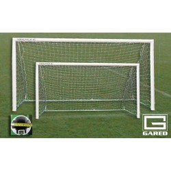Gared Small Sided 5-A-SIDE Soccer Goal, 4' x 12', Portable (SG50412)