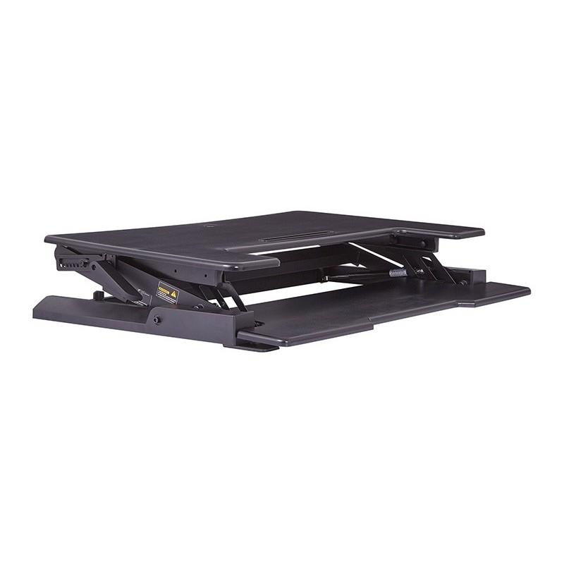 osp furnitures desk riser black dr3622bk - Desk Riser
