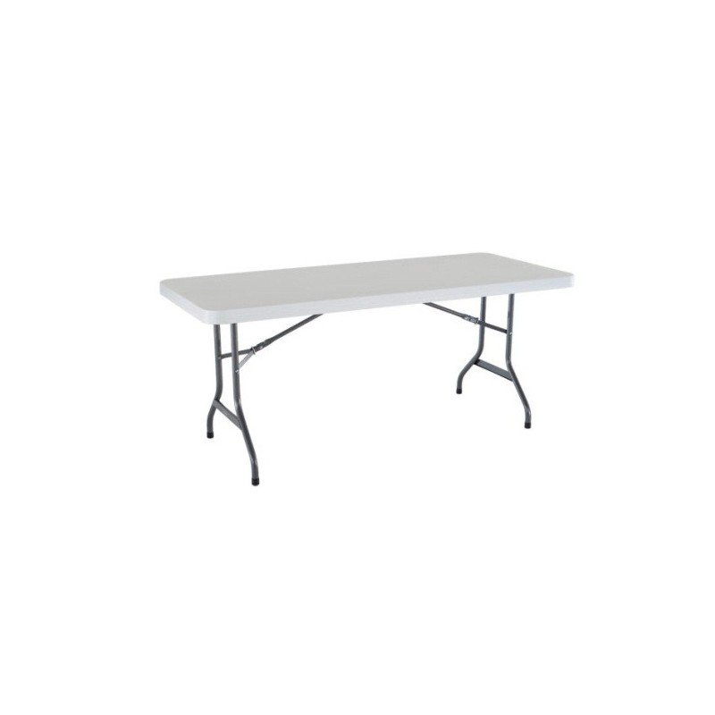 Lifetime 6 ft. Commercial Plastic Folding Banquet Table (White) 22901