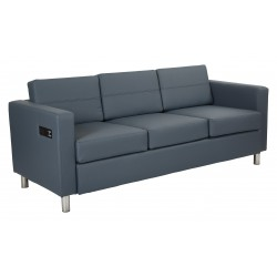 Work Smart Atlantic Sofa - Blue (ATL53-R105)